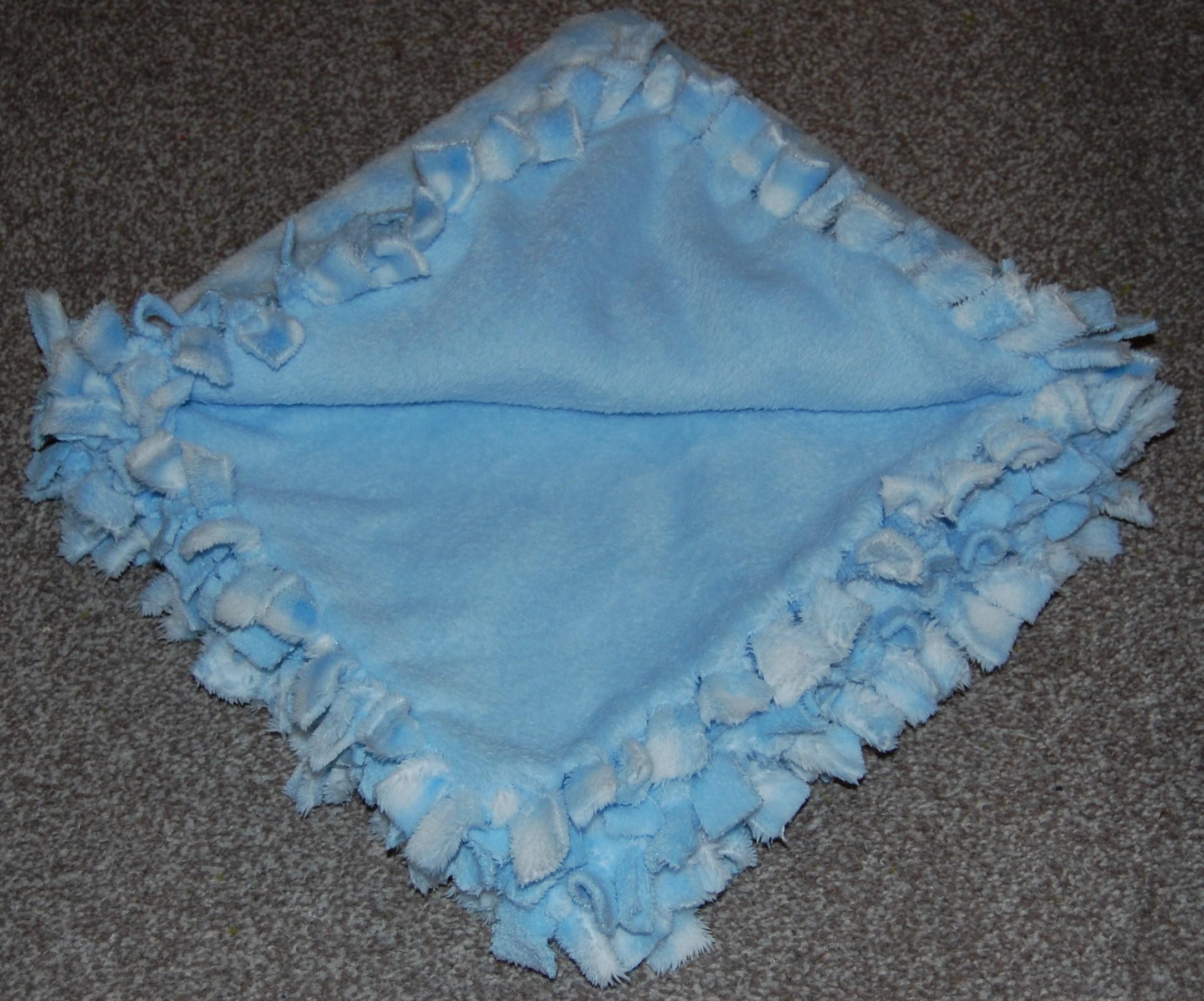 Soft Fleece Baby Tie Blankets Hours Of Fun