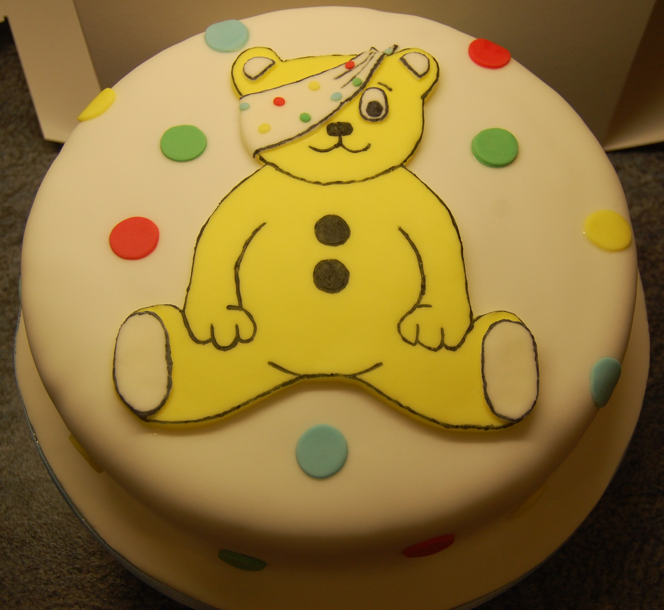 Pudsey Cake Ideas
