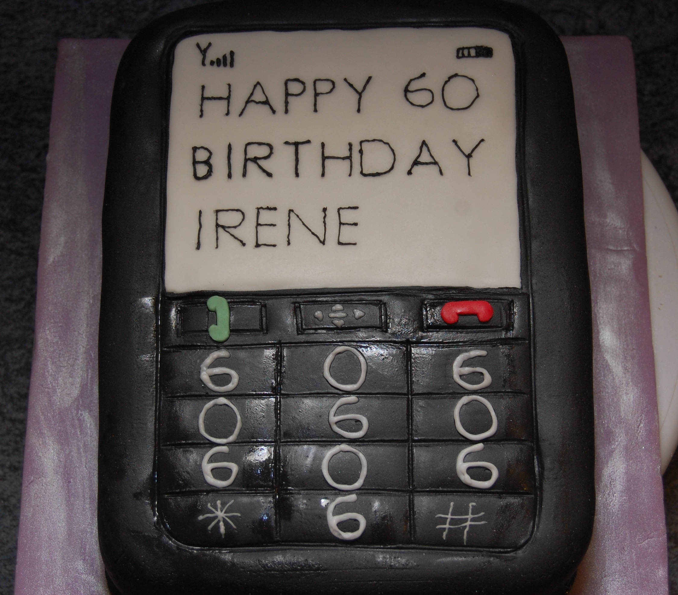 A Mobile Phone You Can Eat For Your Birthday Fantastic Hours Of Fun