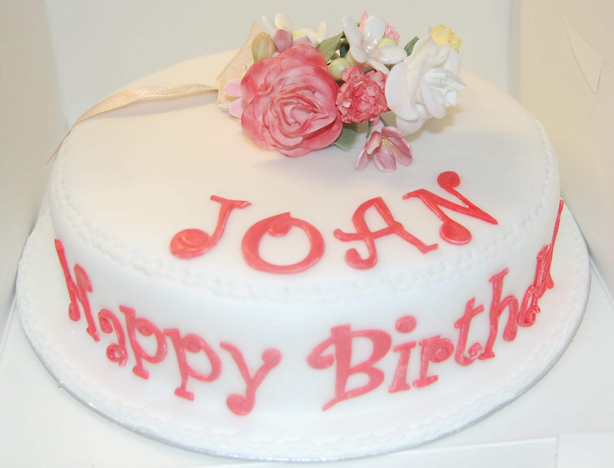 Happy Birthday Cake Joan