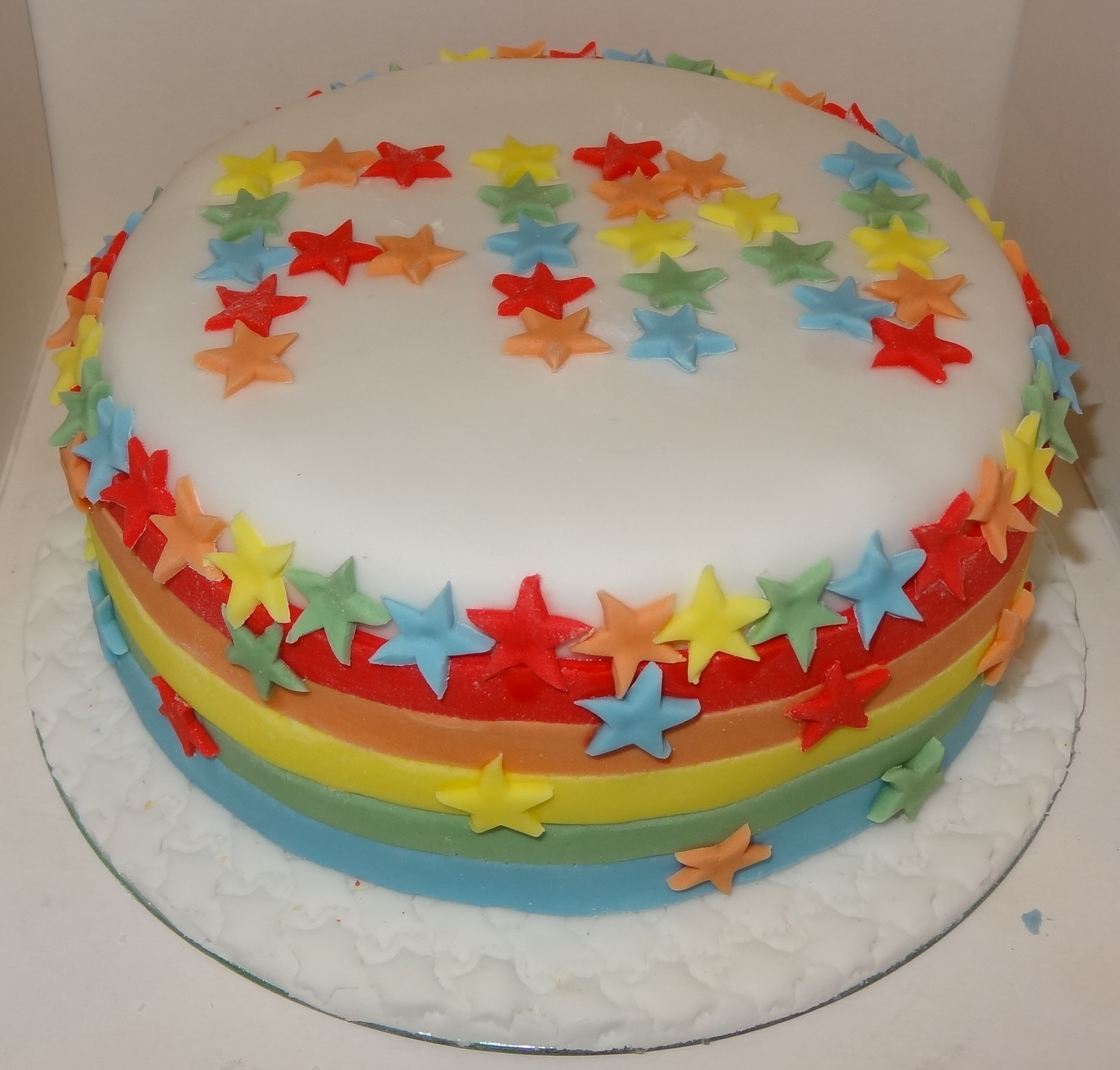Rainbow cake for a Rainbow Birthday yeay Think Rainbow think