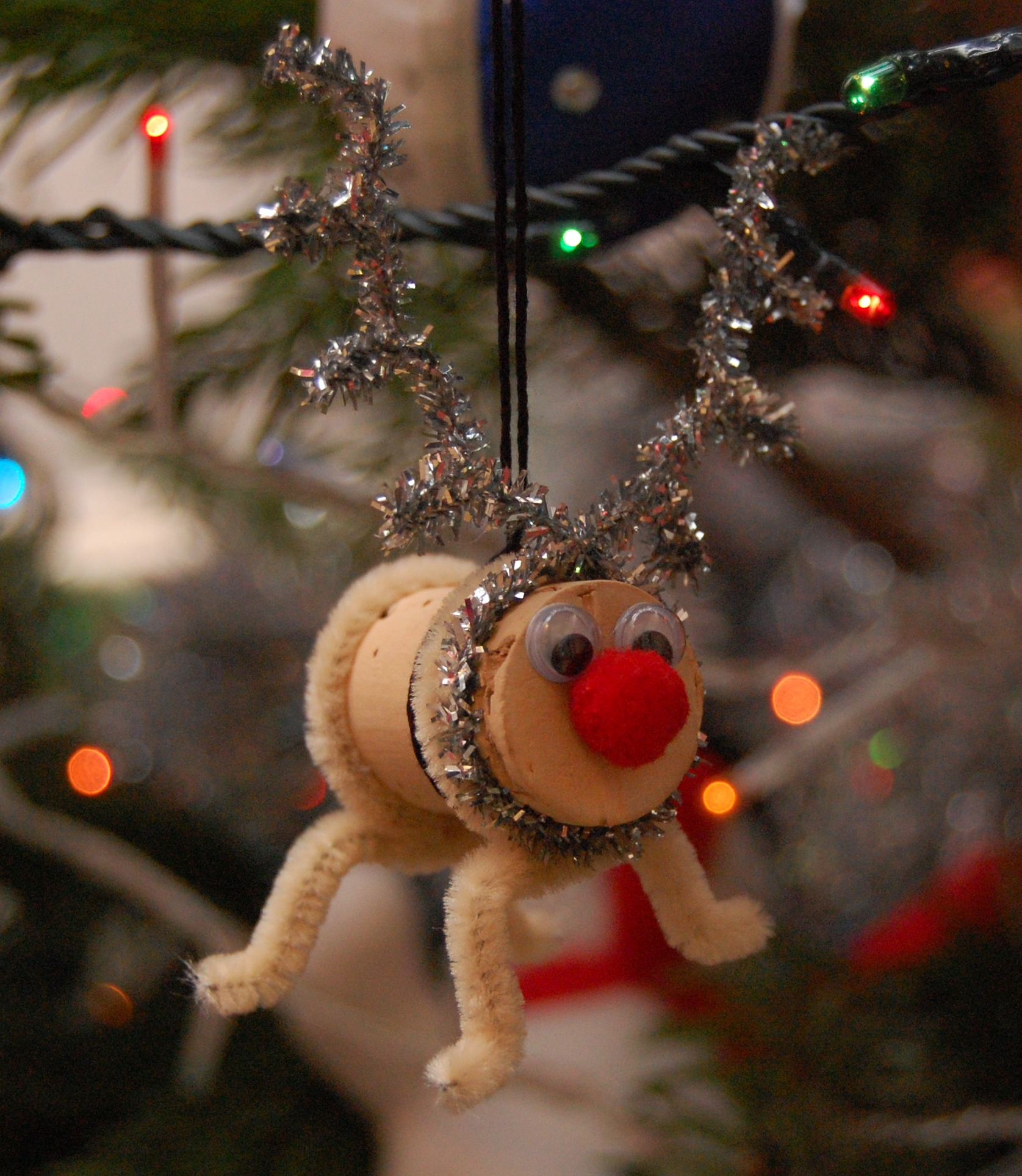 Christmas decorations cork - Glitter Pipe Cleaners Catch The Light