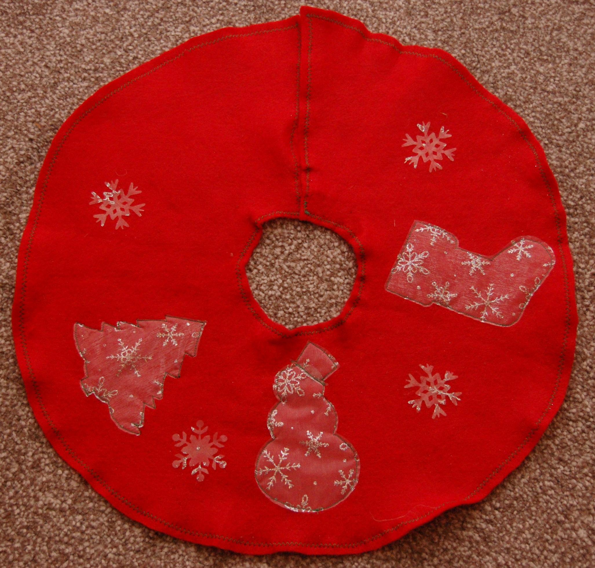 Small Christmas Tree Skirt