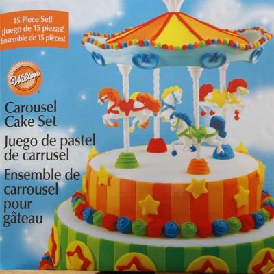 Wilton's carousel cake topper