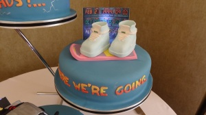 Back to the future wedding cake Scott and Dave (17)
