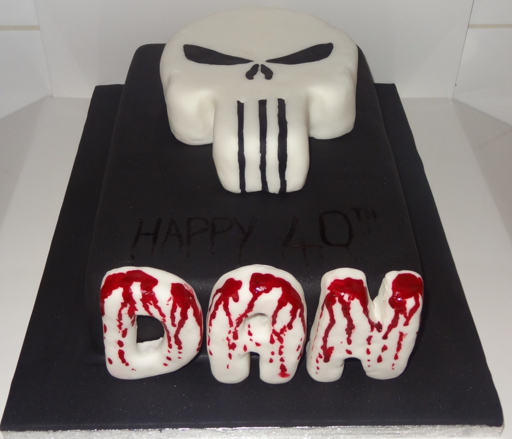 dans 40th birthday cake punisher (2)