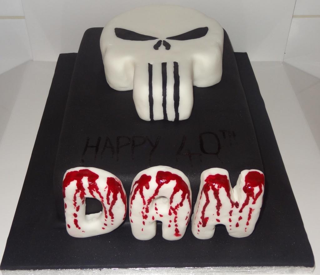 dans 40th birthday cake punisher (2)