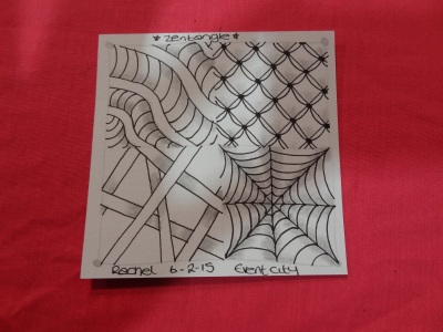 Zentangle and the stitch and hobbycraft show