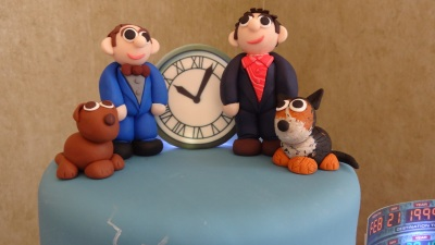 Fimo cake toppers