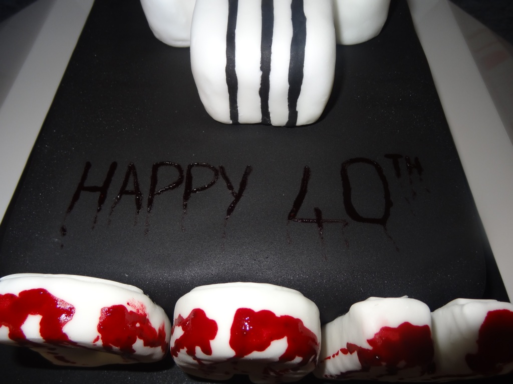 dans 40th birthday cake punisher (1)