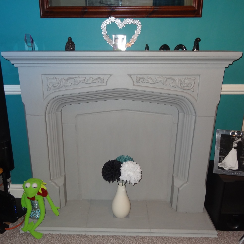 Fireplace after 2
