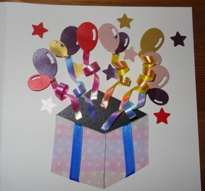 handmade card party in a box