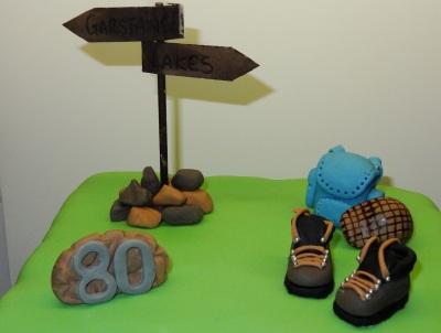 dereks 80th walker themed cake (3)