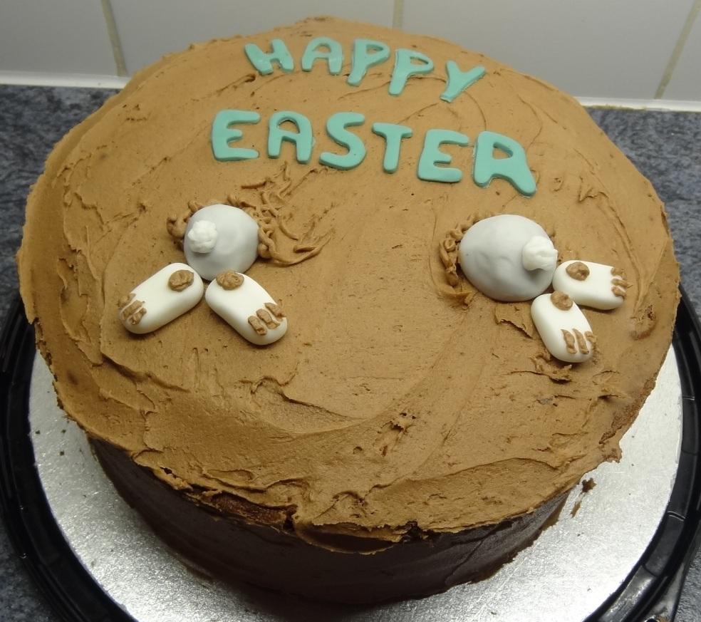 Chocolate cake Easter 2014